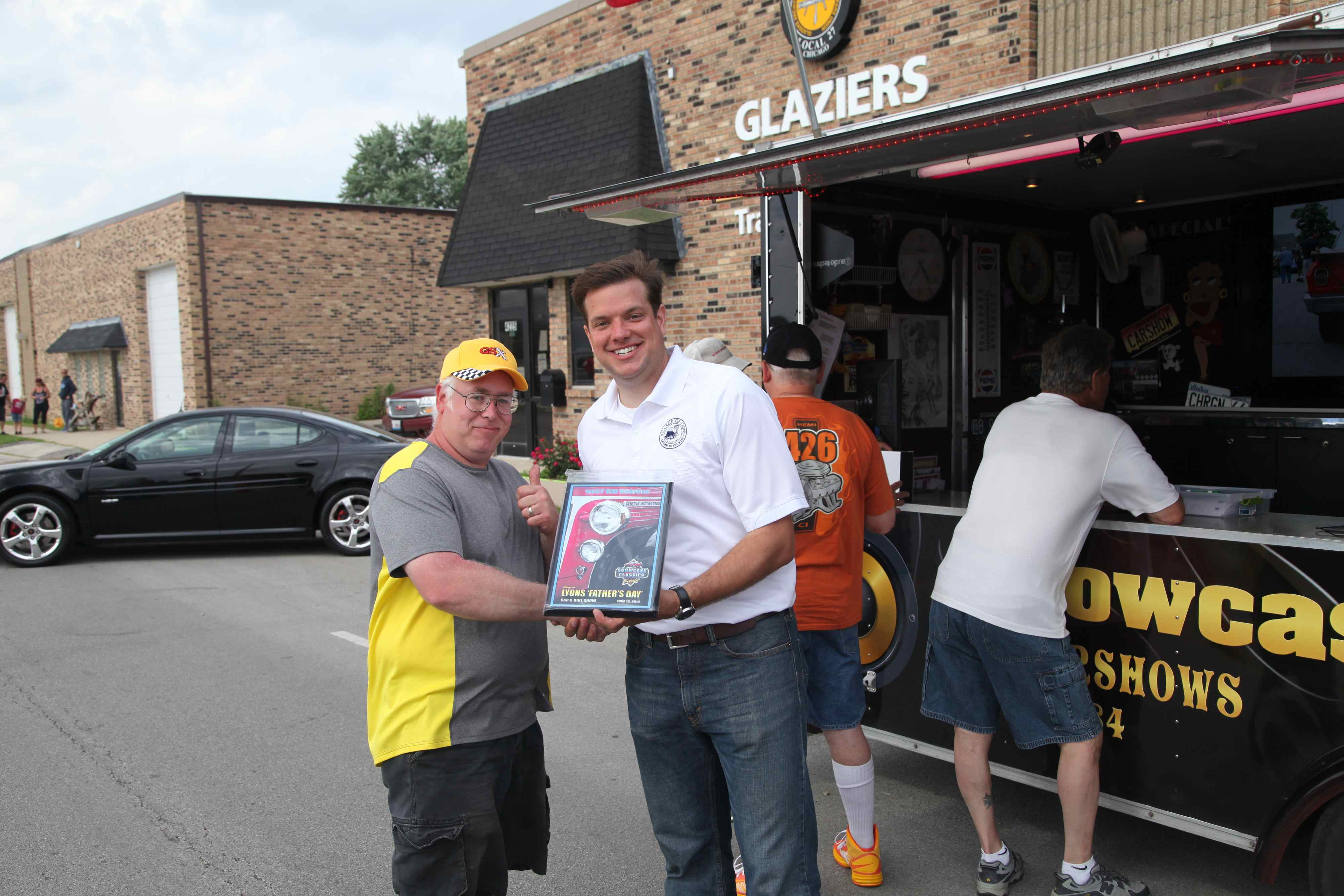 Lyons Car Show Impresses on Father's Day