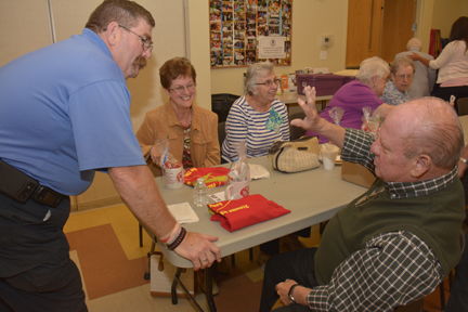 Orland Fire Senior's group explores tips for staying healthy