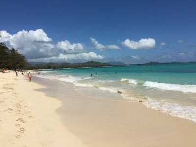 Kailua Beach facing northwest