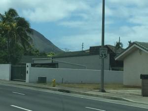 Obama's Home in Honolulu, Hawaii