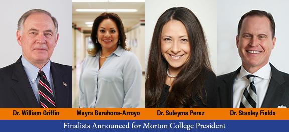 Morton College President Finalists