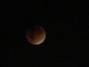 Lunar eclipse of the Super Blood Moon