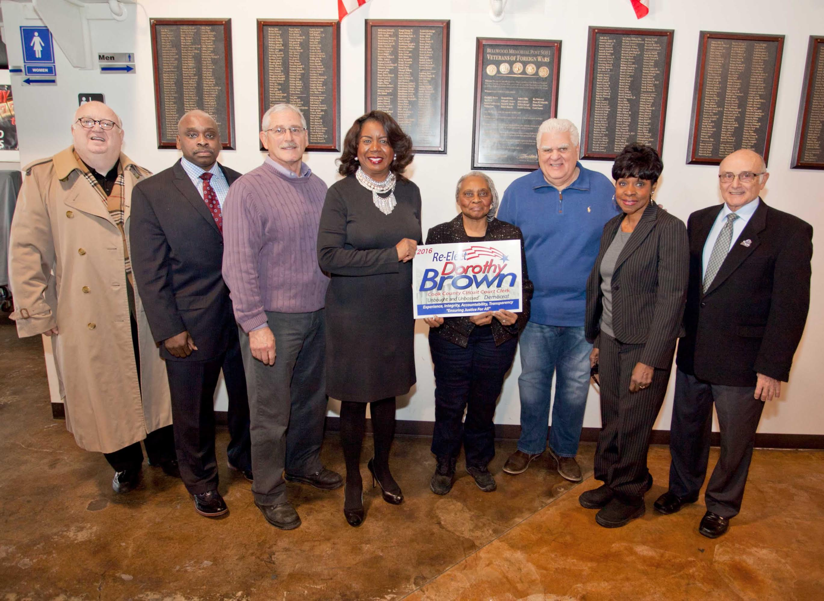 West Suburban mayors endorse Dorothy Brown