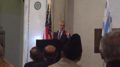 Mayor Rahm Emanuel promises that Chicago will be a city of inclusion, fairness and respect at an Iftar dinner at the Chicago Cultural Center Tuesday June 28, 2016. Courtesy of Ray Hanania