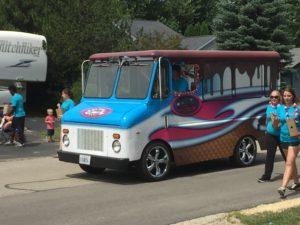 A local ice cream truck