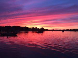 Candlewick Lake sunset