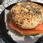 The New Yorker Lox and Bagel sandwich from Eggspress Cafe, 8660 N 2nd St, Machesney Park, IL 61115