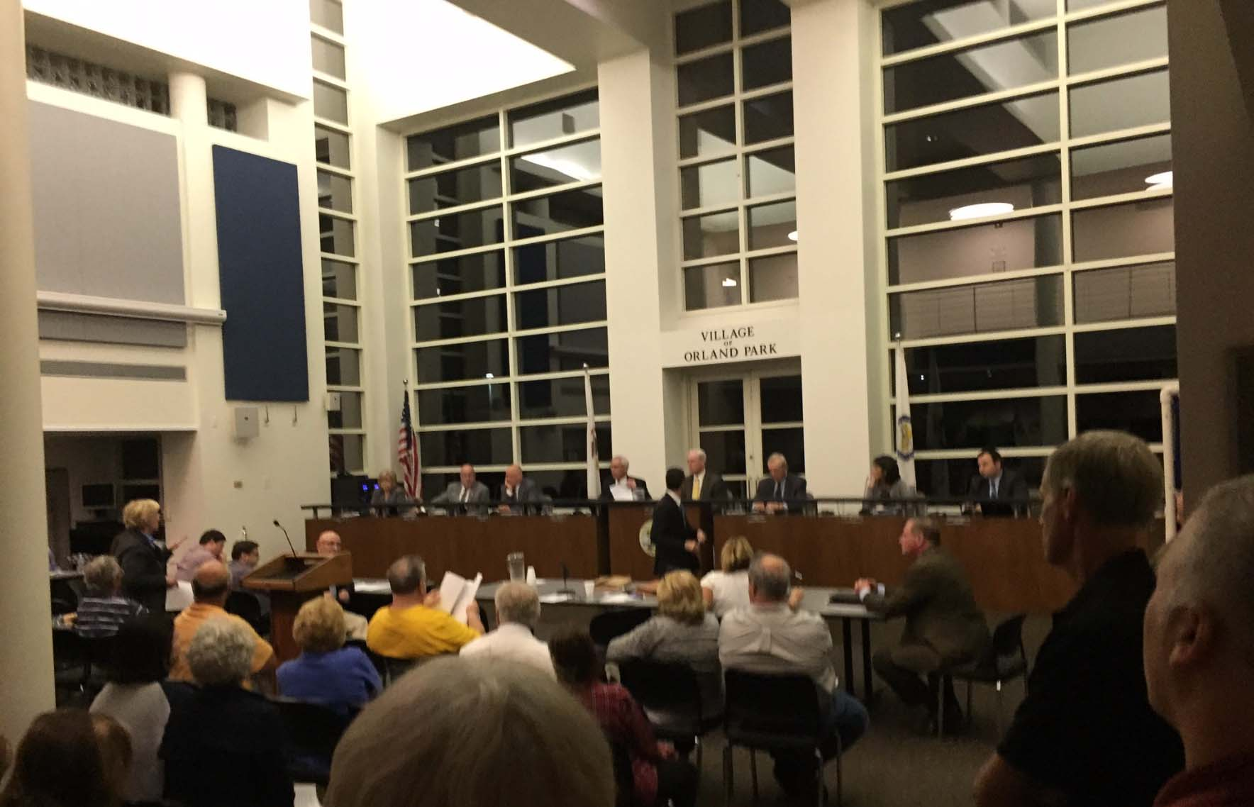 Orland Park Board arrogantly ignores voters will