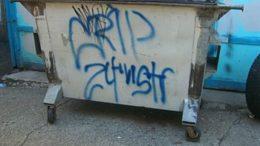 Street gang Graffiti 24th St Crip (Photo credit: Wikipedia)