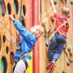 Gizmos Fun Factory Climbing Wall. Photo courtesy of Gizmos Fun Factory